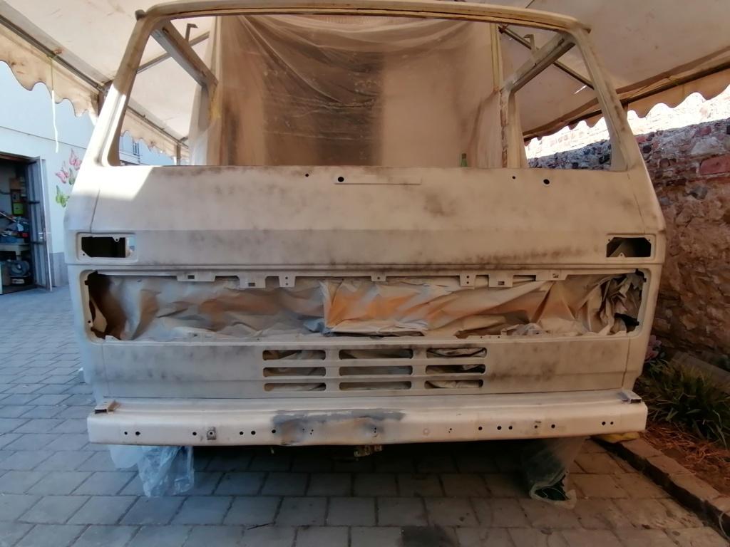 Restauration d'un vw LT camping-car fabrication C.Voisin  15810