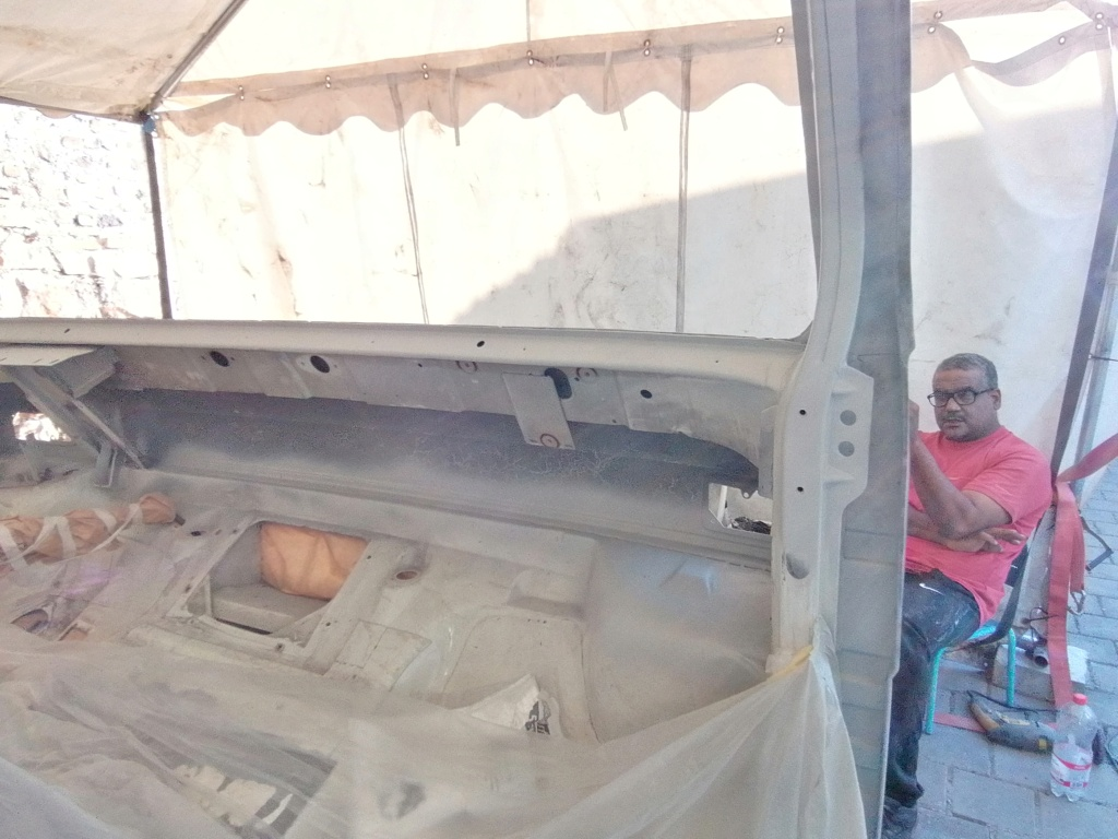 Restauration d'un vw LT camping-car fabrication C.Voisin  15910