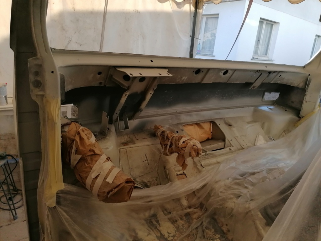 Restauration d'un vw LT camping-car fabrication C.Voisin  16210