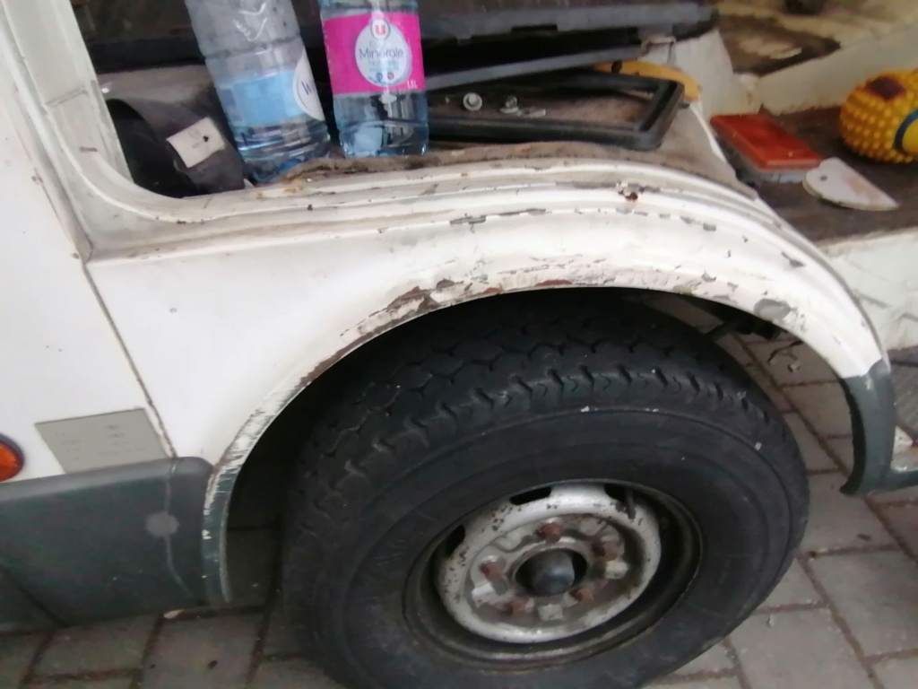 Restauration d'un vw LT camping-car fabrication C.Voisin  16610