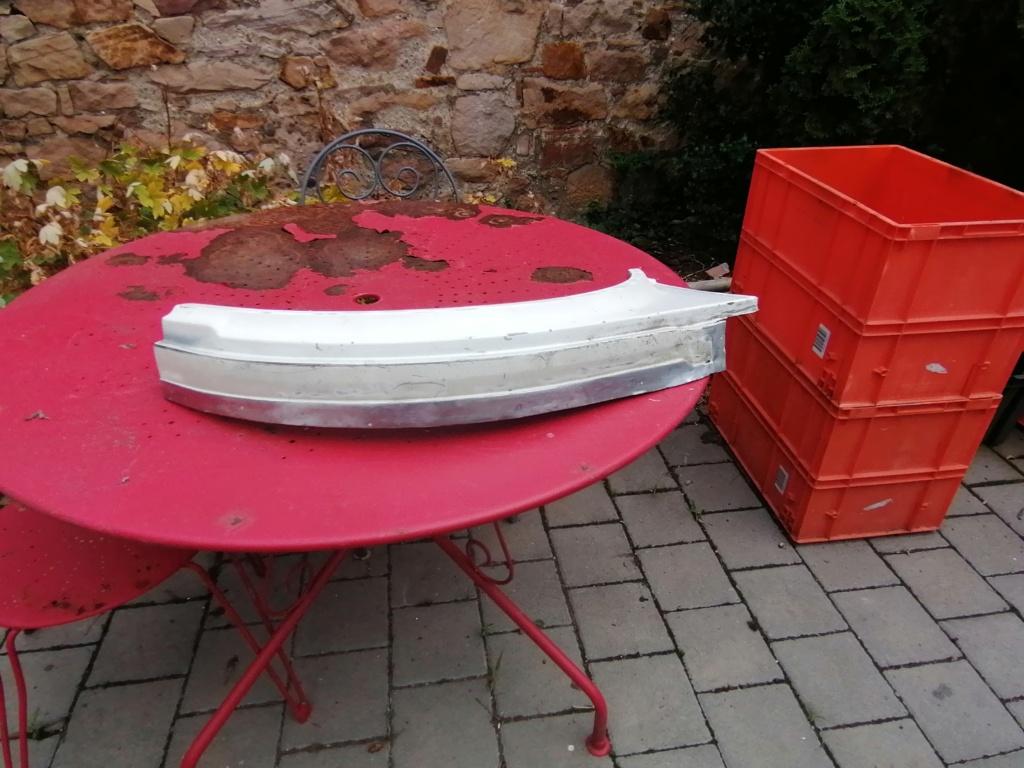 Restauration d'un vw LT camping-car fabrication C.Voisin  17010