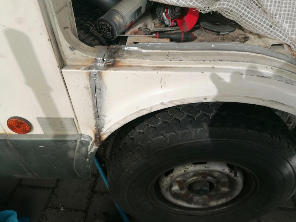 Restauration d'un vw LT camping-car fabrication C.Voisin  17110