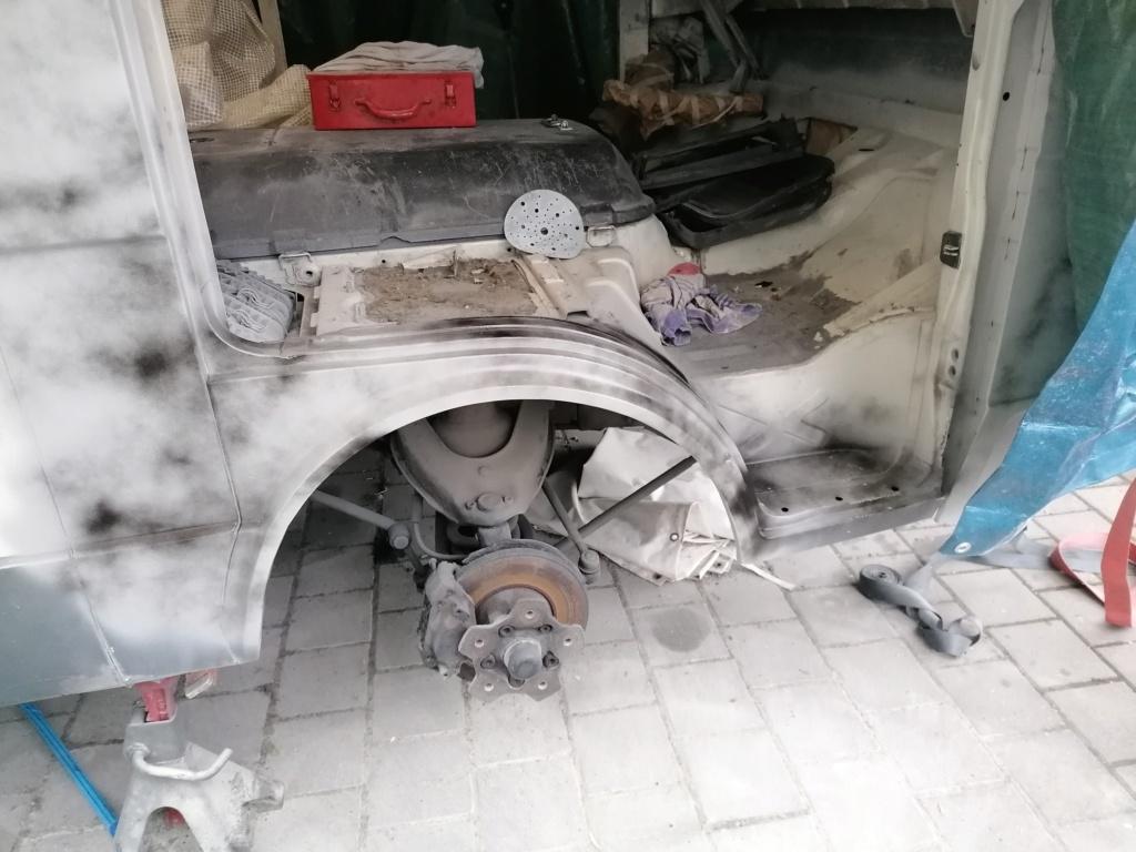 Restauration d'un vw LT camping-car fabrication C.Voisin  17410