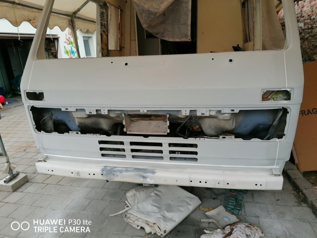 Restauration d'un vw LT camping-car fabrication C.Voisin  17610