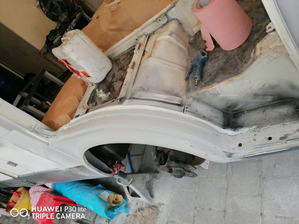 Restauration d'un vw LT camping-car fabrication C.Voisin  17710