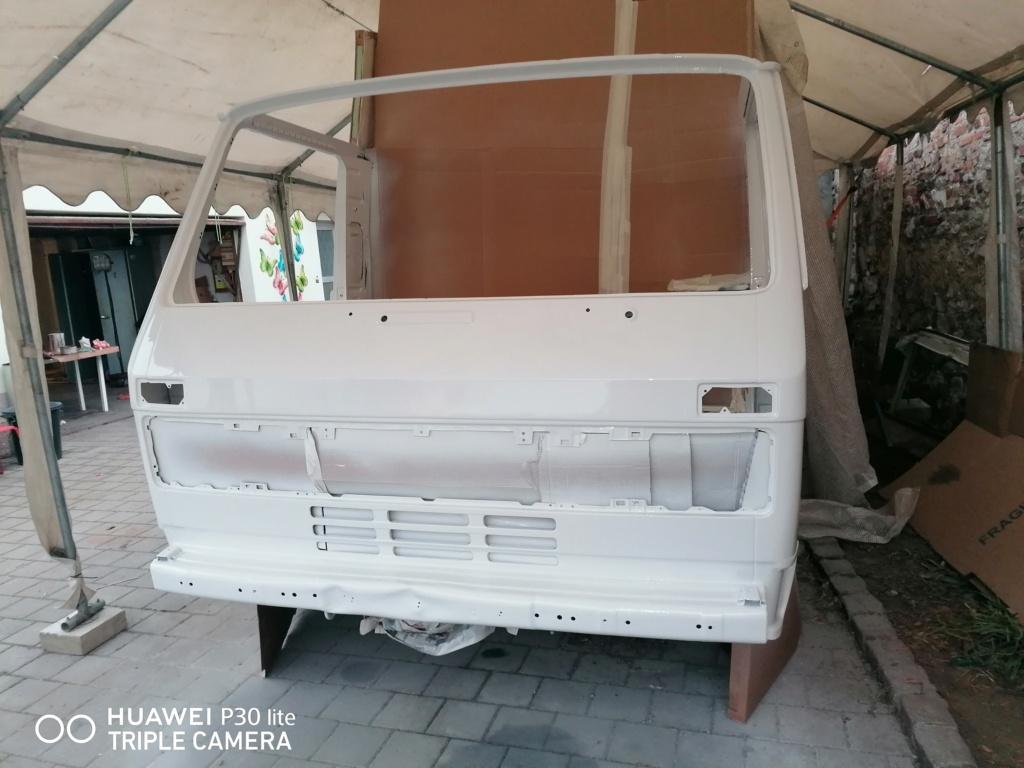 Restauration d'un vw LT camping-car fabrication C.Voisin  17810