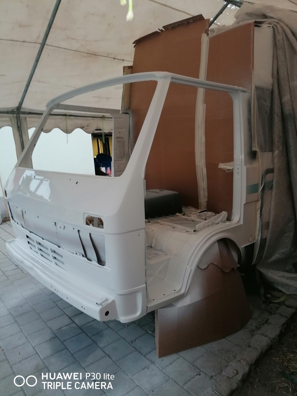 Restauration d'un vw LT camping-car fabrication C.Voisin  17910