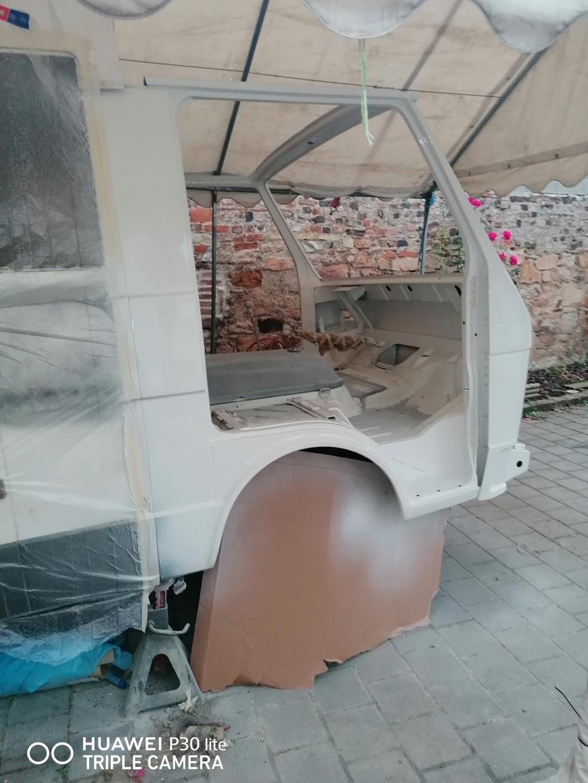 Restauration d'un vw LT camping-car fabrication C.Voisin  18410