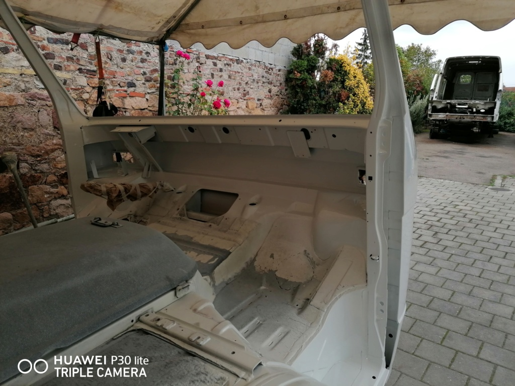 Restauration d'un vw LT camping-car fabrication C.Voisin  18610