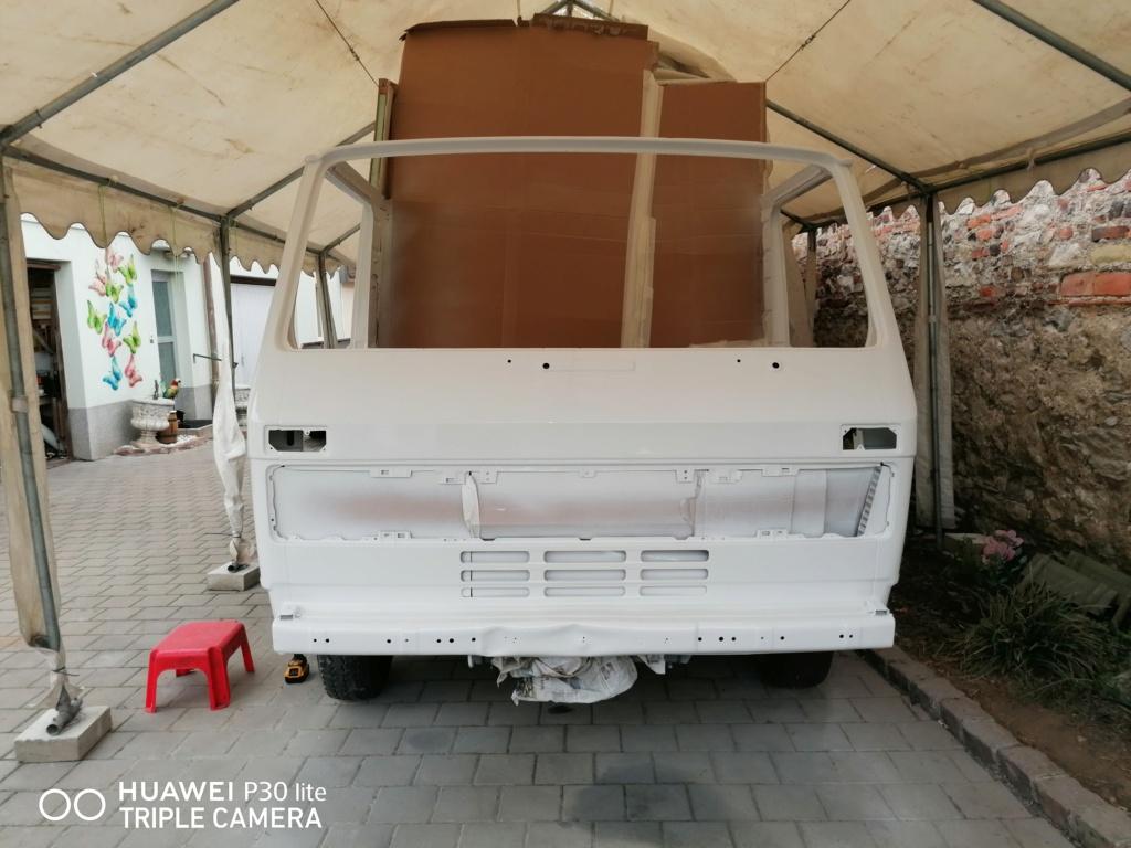 Restauration d'un vw LT camping-car fabrication C.Voisin  18710
