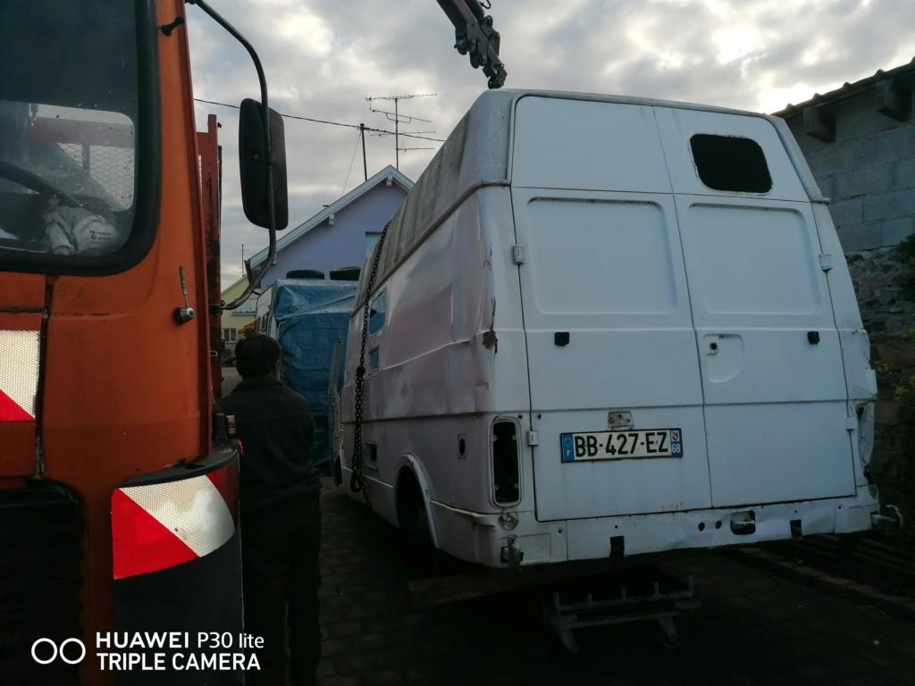 Restauration d'un vw LT camping-car fabrication C.Voisin  511