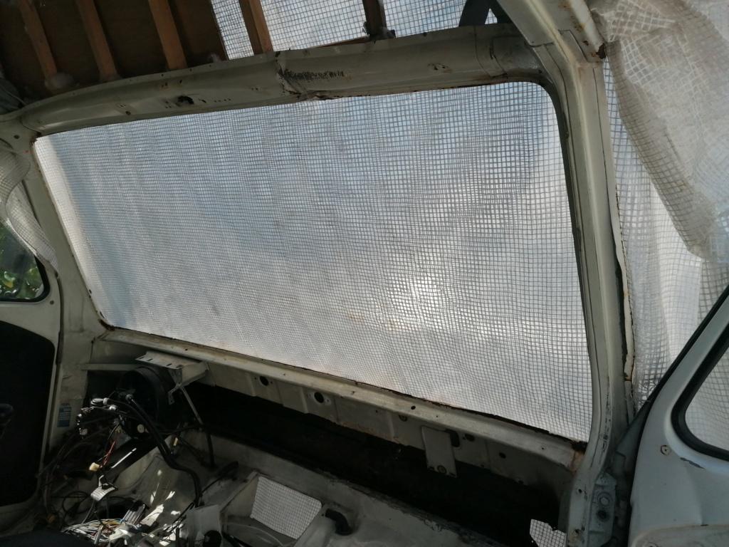 Restauration d'un vw LT camping-car fabrication C.Voisin  6010