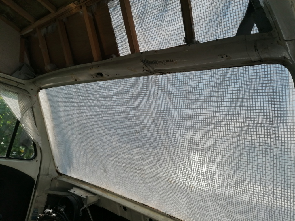 Restauration d'un vw LT camping-car fabrication C.Voisin  6110