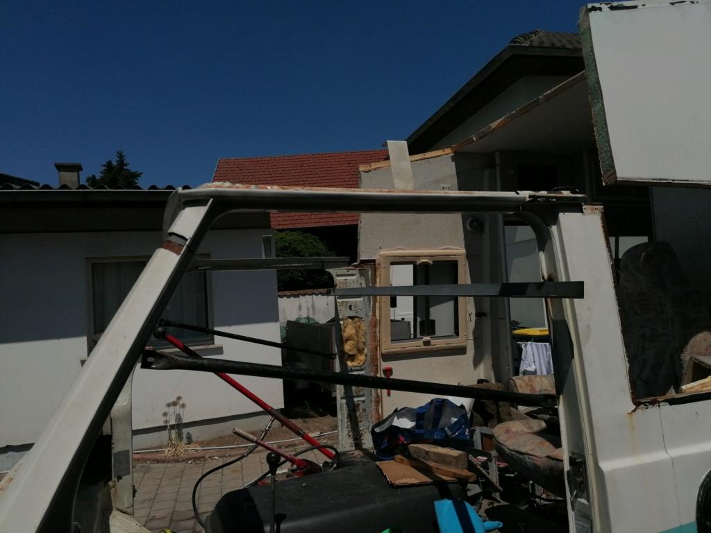 Restauration d'un vw LT camping-car fabrication C.Voisin  8510