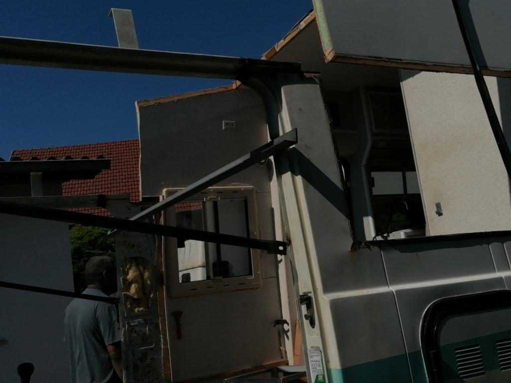 Restauration d'un vw LT camping-car fabrication C.Voisin  8911