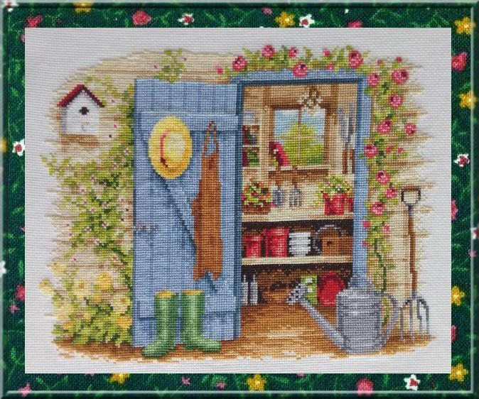 vervaco - l'abri de jardin (fini) - Page 2 Vervac16