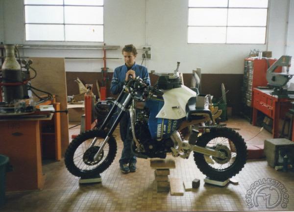 """Modèle d'études Yamaha """"Hyper Ténéré"""" 1988 Yamaha13"""