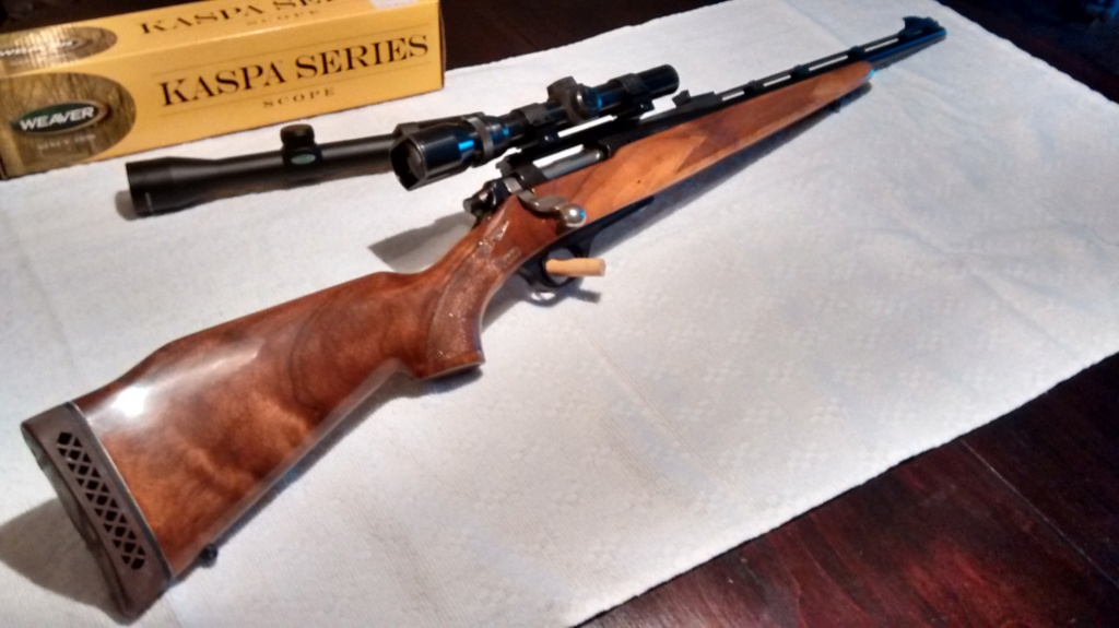 """La Remington 600: précurseure du """"scout rifle"""" moderne? Img_2016"""
