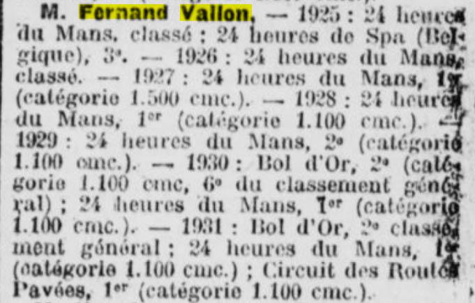 Vallon Fernand, pilote de course et essayeur maison 2019-143