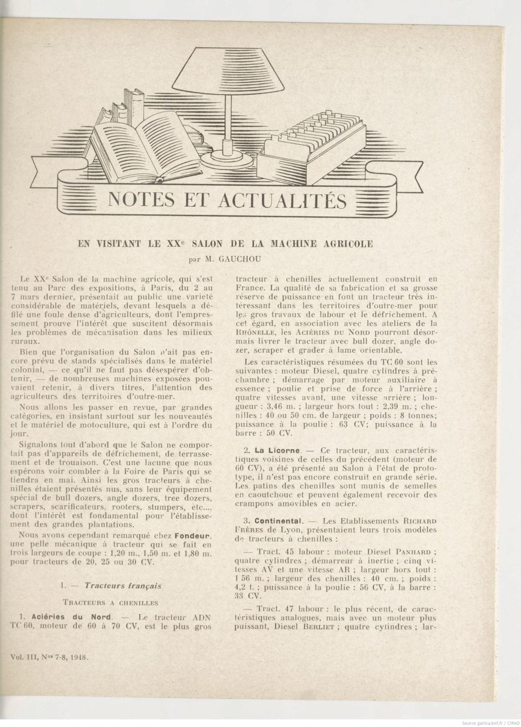 La presse de l'époque  L_agro11