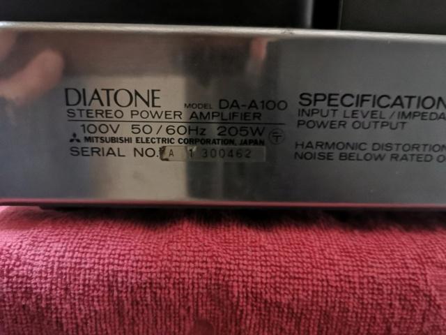 Diatone DA-A100 12236510