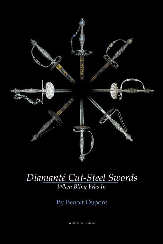 Nouveau livre sur les épées et sabres décorés d'acier facetté Cover110