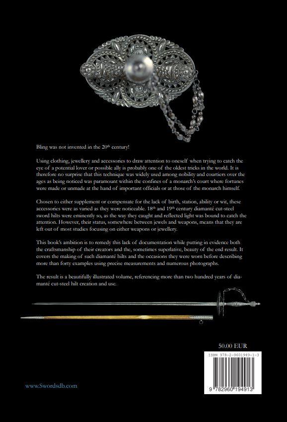 Nouveau livre sur les épées et sabres décorés d'acier facetté Cover210
