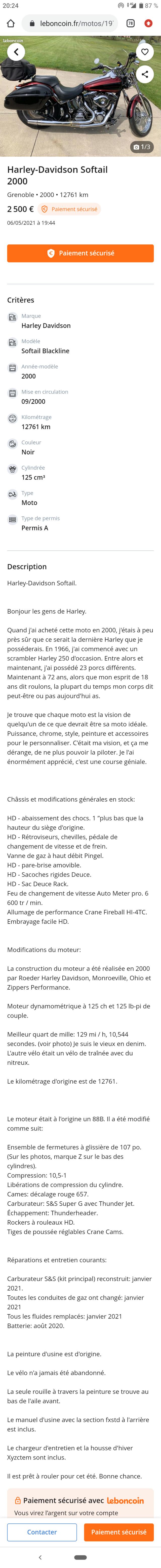 Escroqueries sur le Bon-Coin par le Forum Passion-Harley - Page 37 Captur40