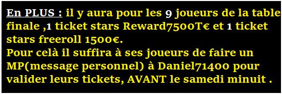 Mot de passe Tournoi ABCPOKERinfo sur pokerstars le 28/02 à 21h00 9ticke10