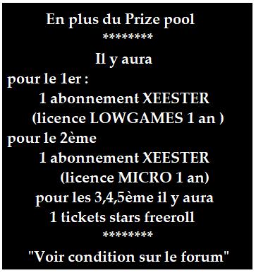Tournoi ABCPOKERinfo KO 1€ sur le home Games de Pokerstars le mercredi 24/02 à 21h00 . Kohome10