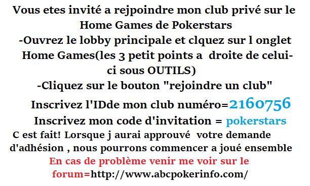 Tournoi TEAM¤ABCPOKER sur (Home Games) de Pokerstars le 25/09 à 21h00  Repons20