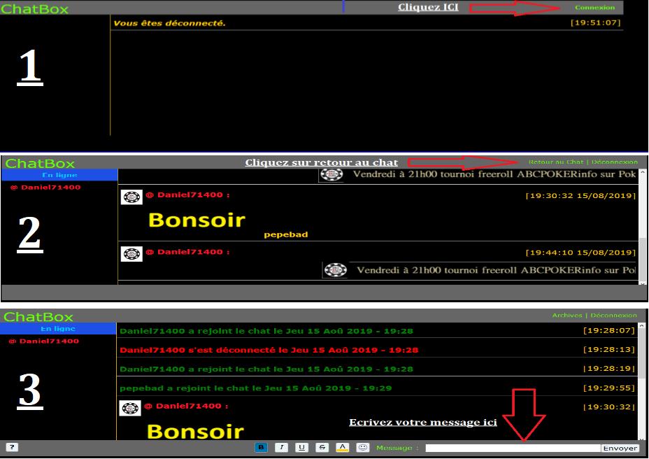Comment ouvrir le CHATBOX Soluti11