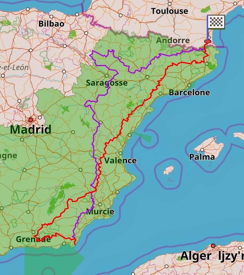 Balade en Espagne A10