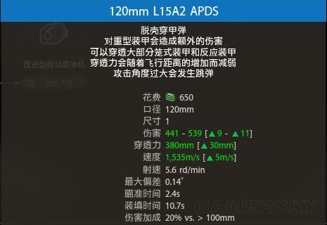Armored Warfare 各種彈頭作用說明 Apds10