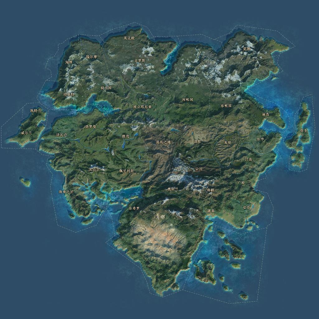 戰意 大地圖 Map10