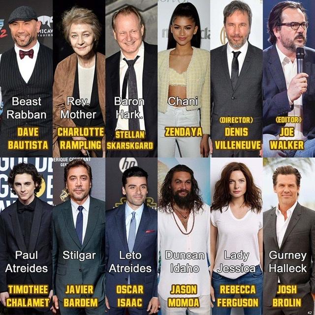 Dune, l'adaptation de Denis Villeneuve (avec Timothee Chalamet, Oscar Isaac ...) 77290110