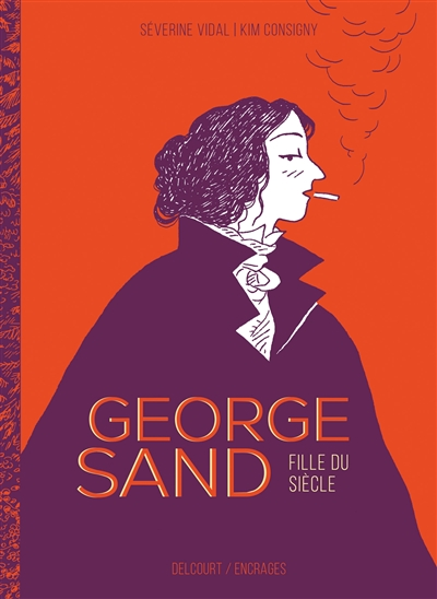 Des bandes dessinées sur George Sand George12