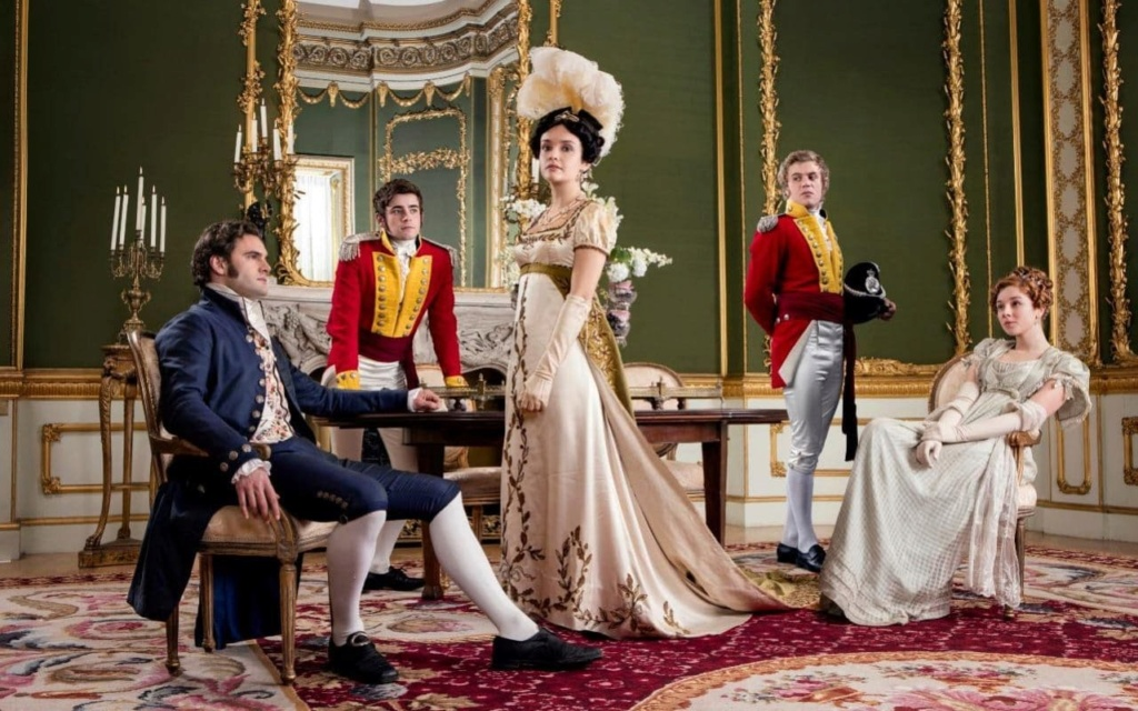 Vanity Fair, une nouvelle adaptation (ITV / Amazon) - Page 2 Img_8110