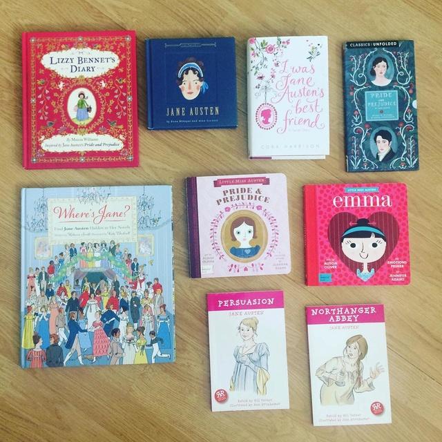 La collection d'une Jane Austen addict (qui n'essaie même pas de se soigner ...) Photo10