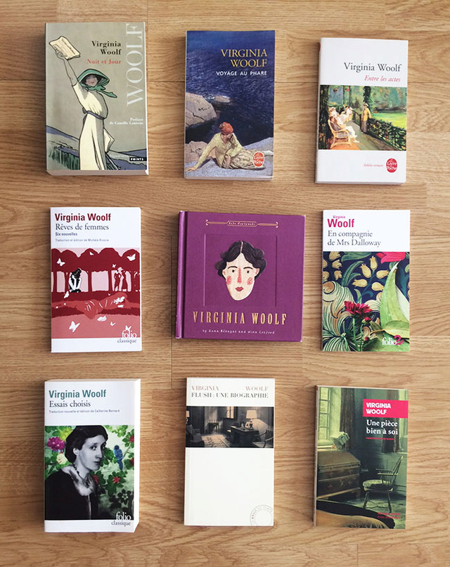 Du côté de Bloomsbury :  ma collection autour de Virginia Woolf et de ses proches Wfdg10