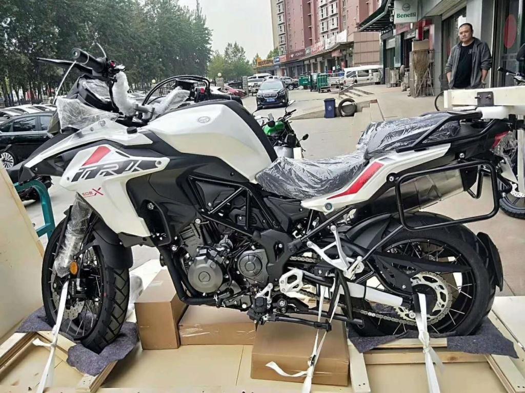 502 X avec jantes tubeless repéré en Chine 59758110