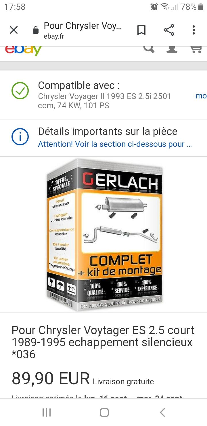 ligne échappement Ebay Screen10