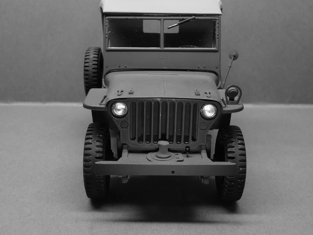 JEEP WILLYS MLW-2 kit de base ITALERI N° 6355 1/24 Jeep-m12