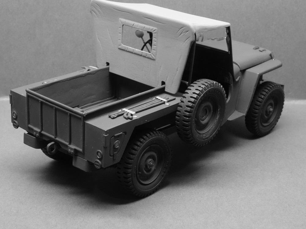 JEEP WILLYS MLW-2 kit de base ITALERI N° 6355 1/24 Jeep-m14
