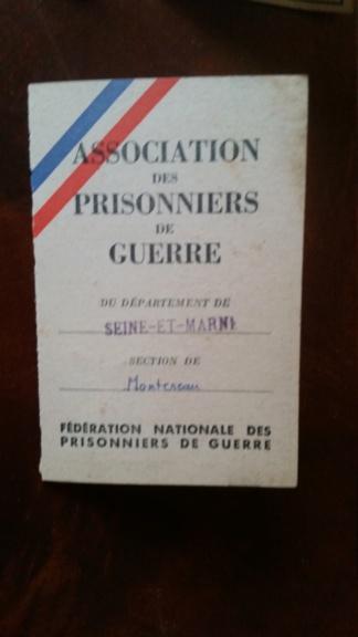 cartes prisonnier de guerre FR ww2 20210115