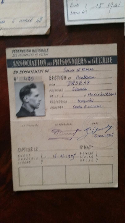 cartes prisonnier de guerre FR ww2 20210119