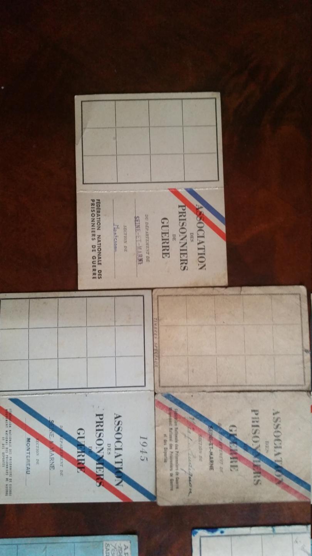 cartes prisonnier de guerre FR ww2 20210121