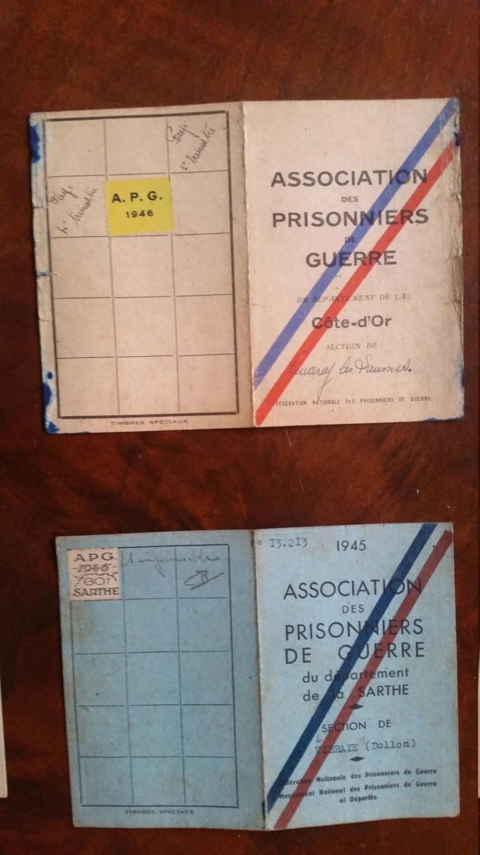 cartes prisonnier de guerre FR ww2 20210122