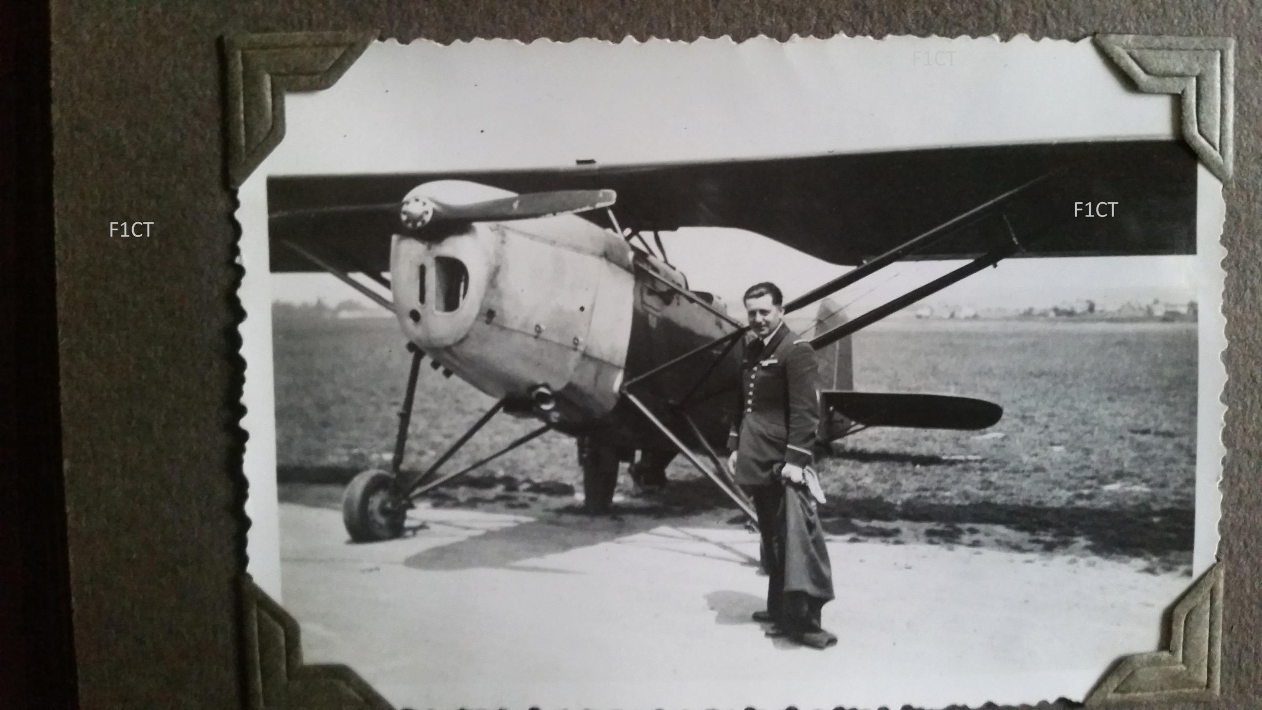 Superbe album aviation d'un LTN de réserve, immédiat avant guerre  20210135