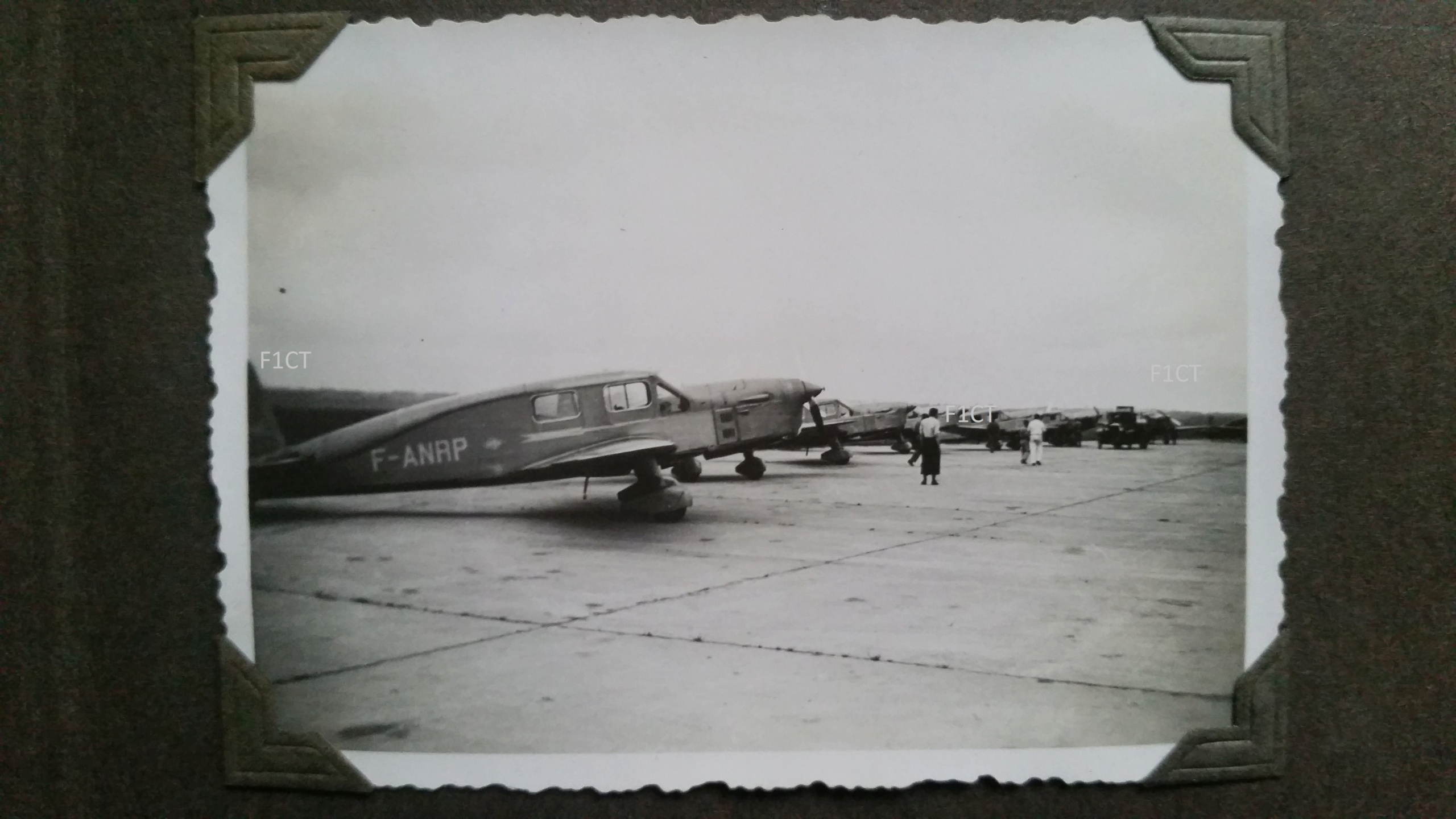 Superbe album aviation d'un LTN de réserve, immédiat avant guerre  20210138